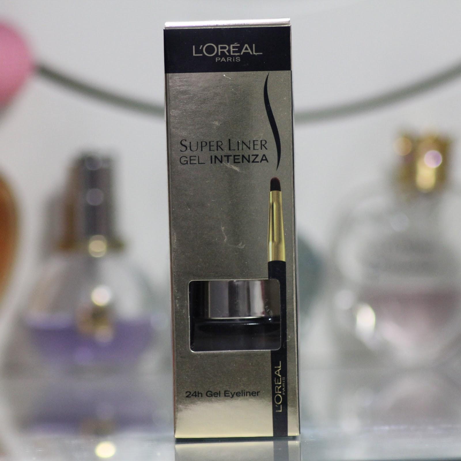 sombrenix l 39 oreal super liner gel intenza 24h jel eyeliner 01 pure black. Black Bedroom Furniture Sets. Home Design Ideas