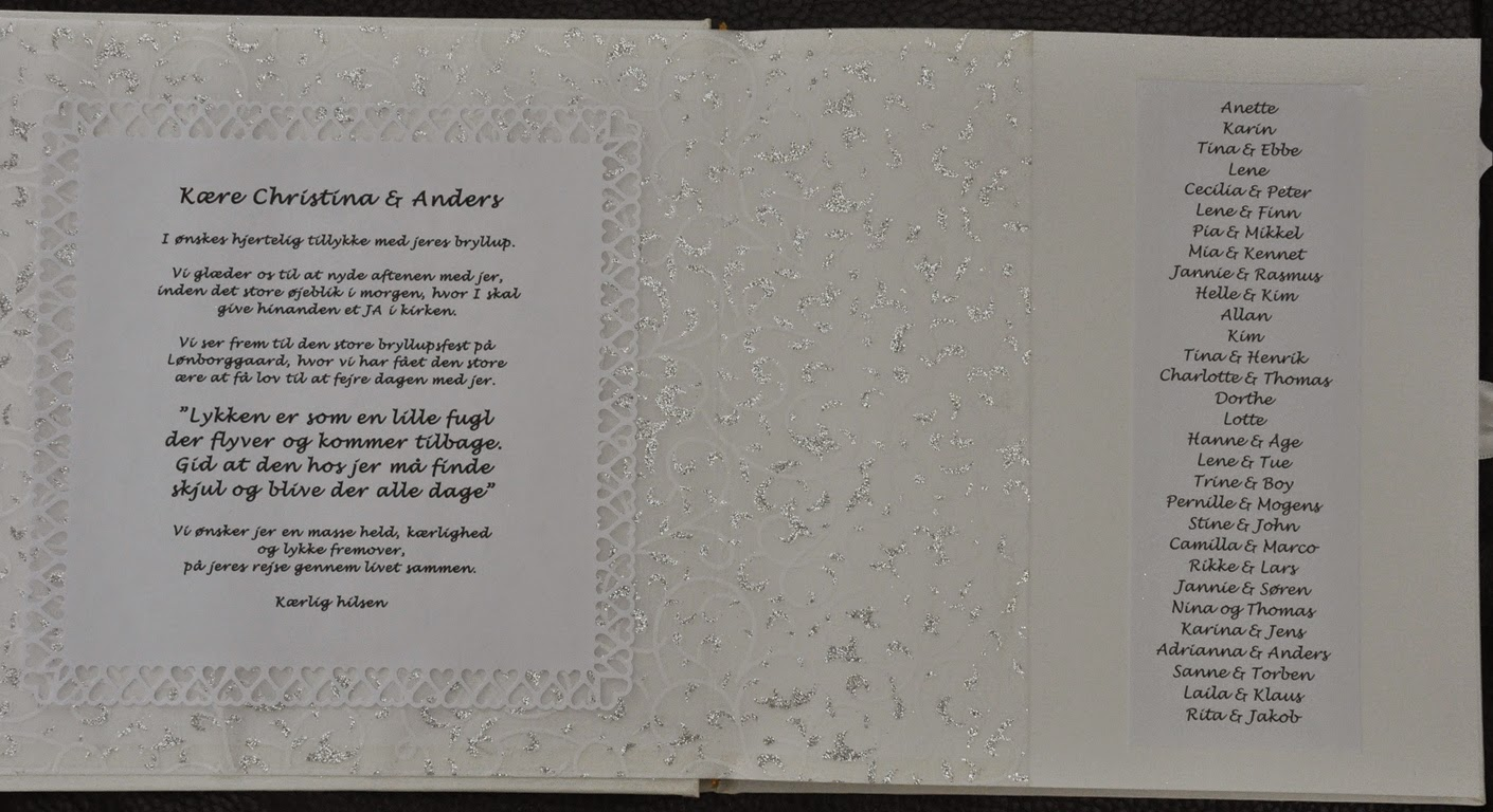 hva skriver man i bryllupskort moss
