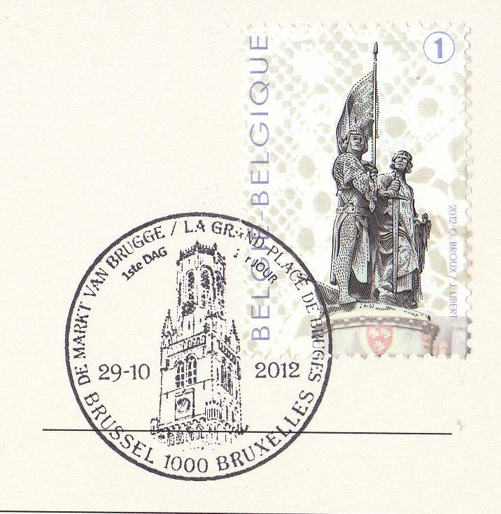 Johan Postcards Vlaanderen Brugge Grote Markt