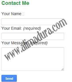 cara-pasang-contact-form-di-blog