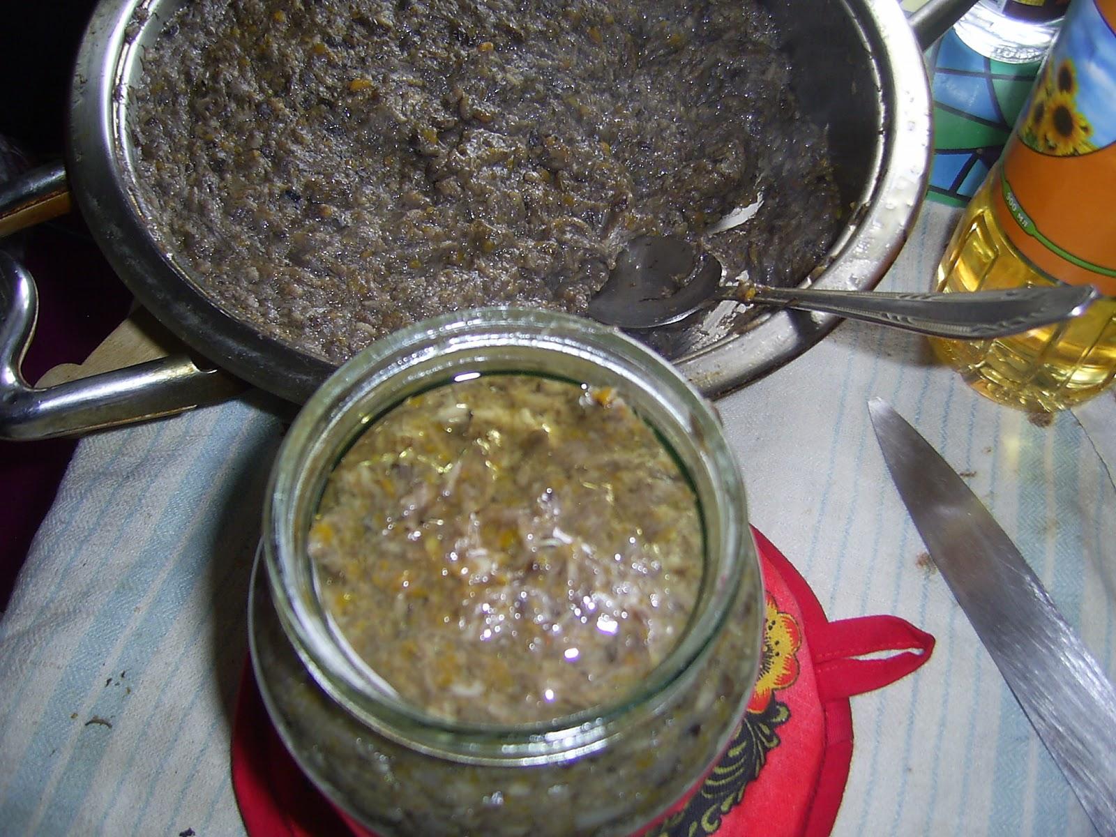 Рецепты как сделать икру из грибов на зиму