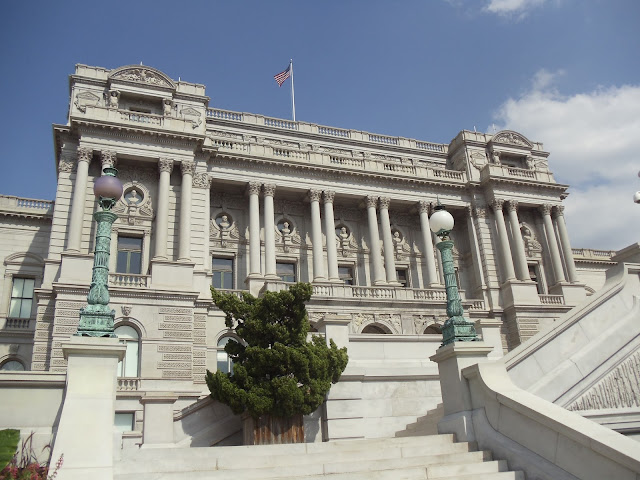 Exterior of the Library of Congress