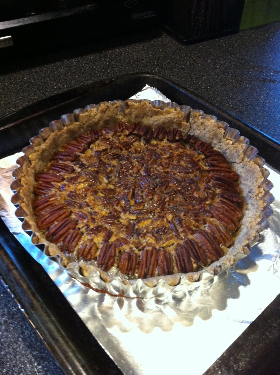 Culinary kaleidoscope alton browns bourbon pecan pie from food network forumfinder Image collections