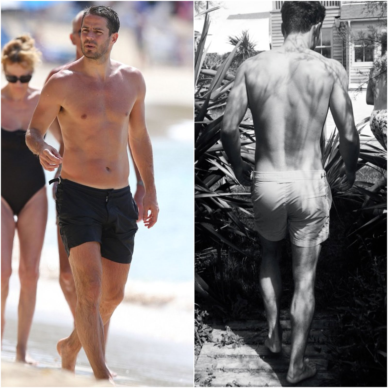 00O00 menswear blog Jamie Redknapp in Orlebar Brown - Holiday in Barbados