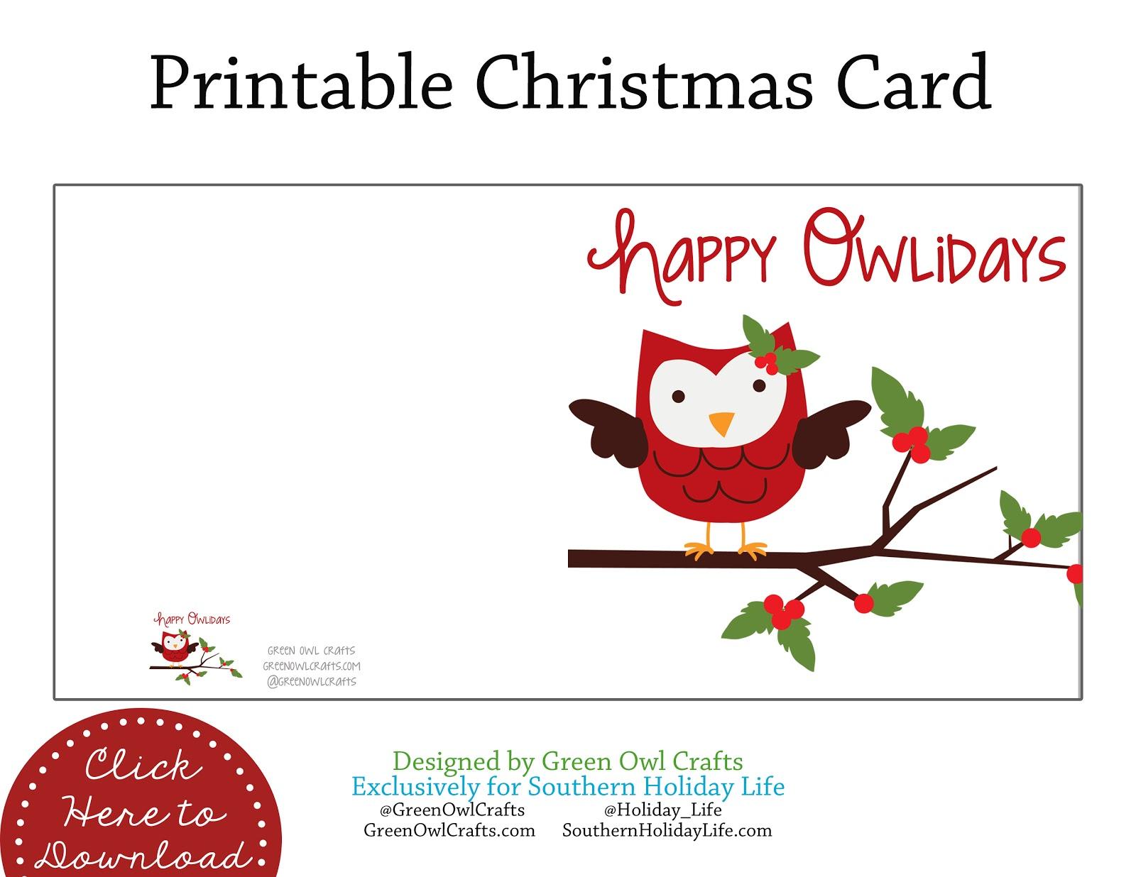 free christmas crafts printables