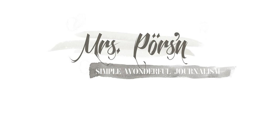 Mrs. Pörs'n