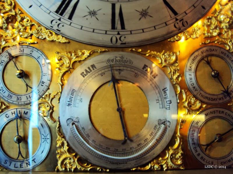 Reloj Inglés. Siglo XIX. Carrillón de Máquina inglesa