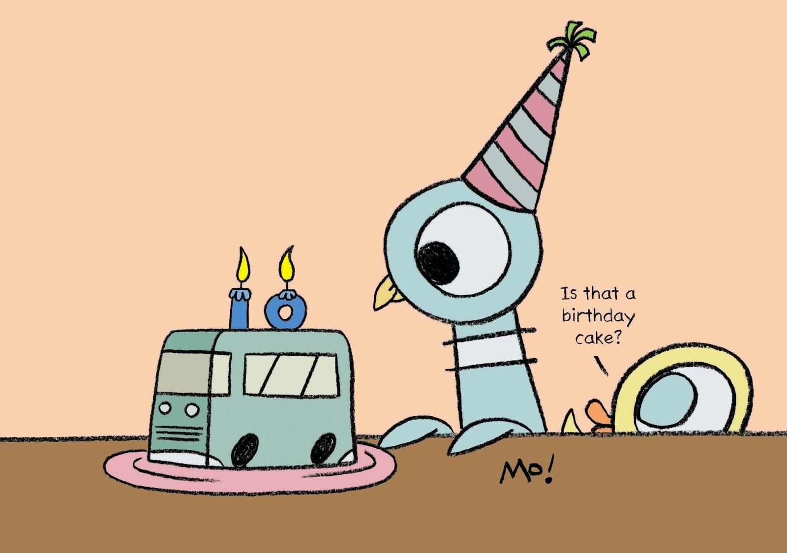 Mo willems doodles happy birthday pigeon happy birthday pigeon bookmarktalkfo Images