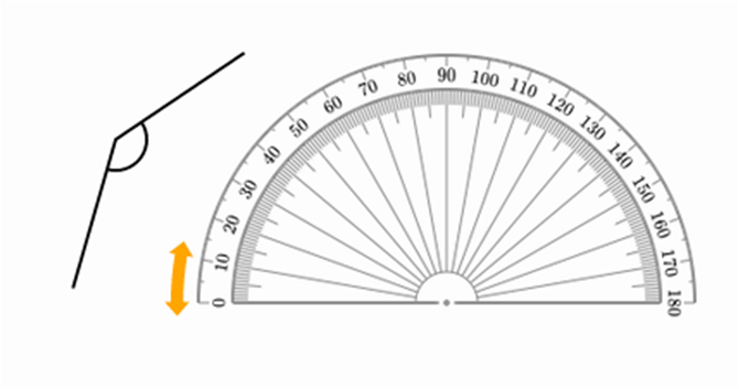 how to draw a pentagram with a protractor