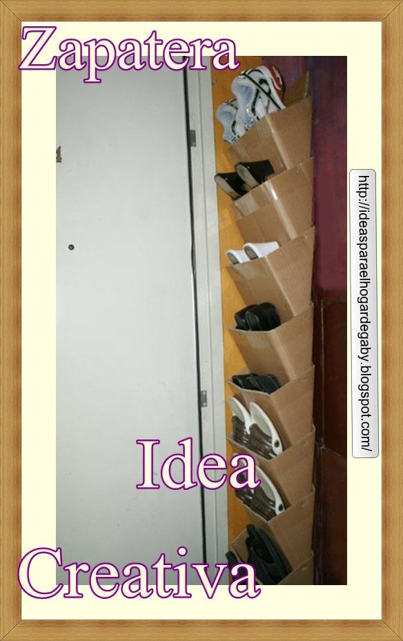 Ideas para el hogar zapatera paso a paso for Como hacer una zapatera