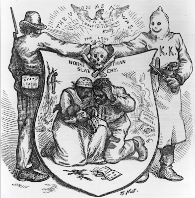 end of reconstruction During reconstruction, elites used racist appeals to silence calls for redistribution and worker empowerment northern victory in the civil war was supposed to usher in a new nation the slaughter of hundreds of thousands on the battlefields did not simply end slavery in america, it also created a.