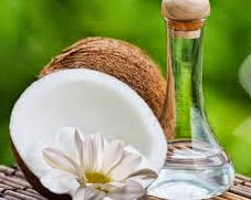 Coconut oil treatment for gray hairs