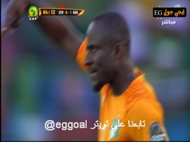 اهداف مبارة ساحل العاج و غينيا 1-1 ||كأس امم افريقيا 20/1/2015