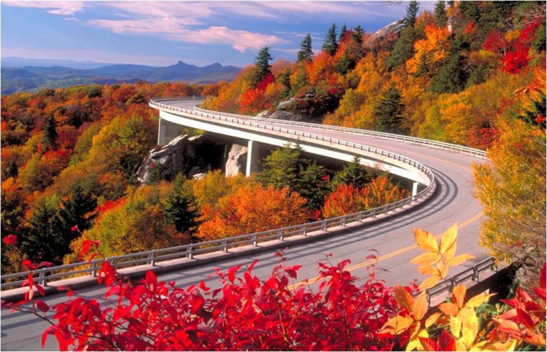Great Smokey Mountains National Park - Most Breathtaking National Parks to Visit for Fall Colors