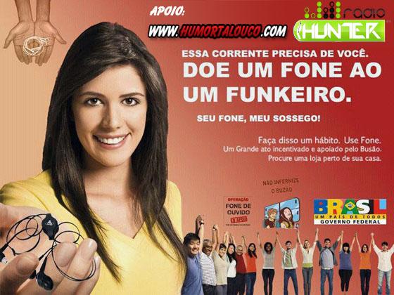 #Campanha: Doe um fone a um funkeiro.