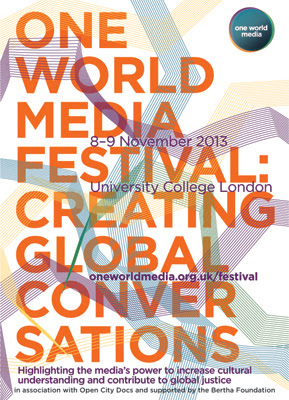 One World Media Festival Poster
