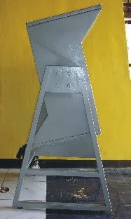 Tumbling barrel test apparatus