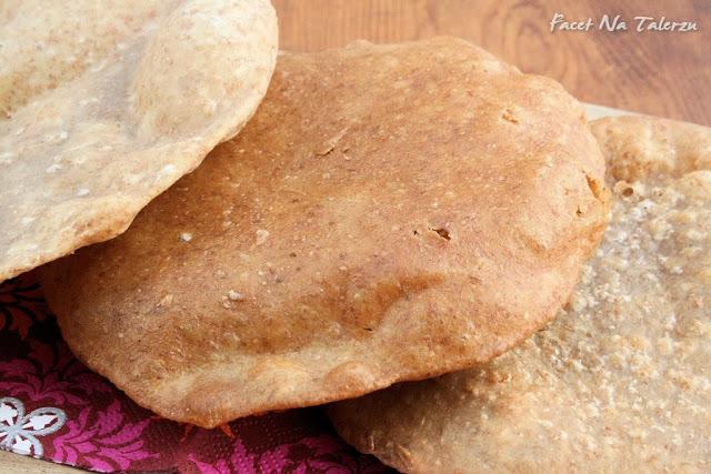 puri, indyjski chlebek