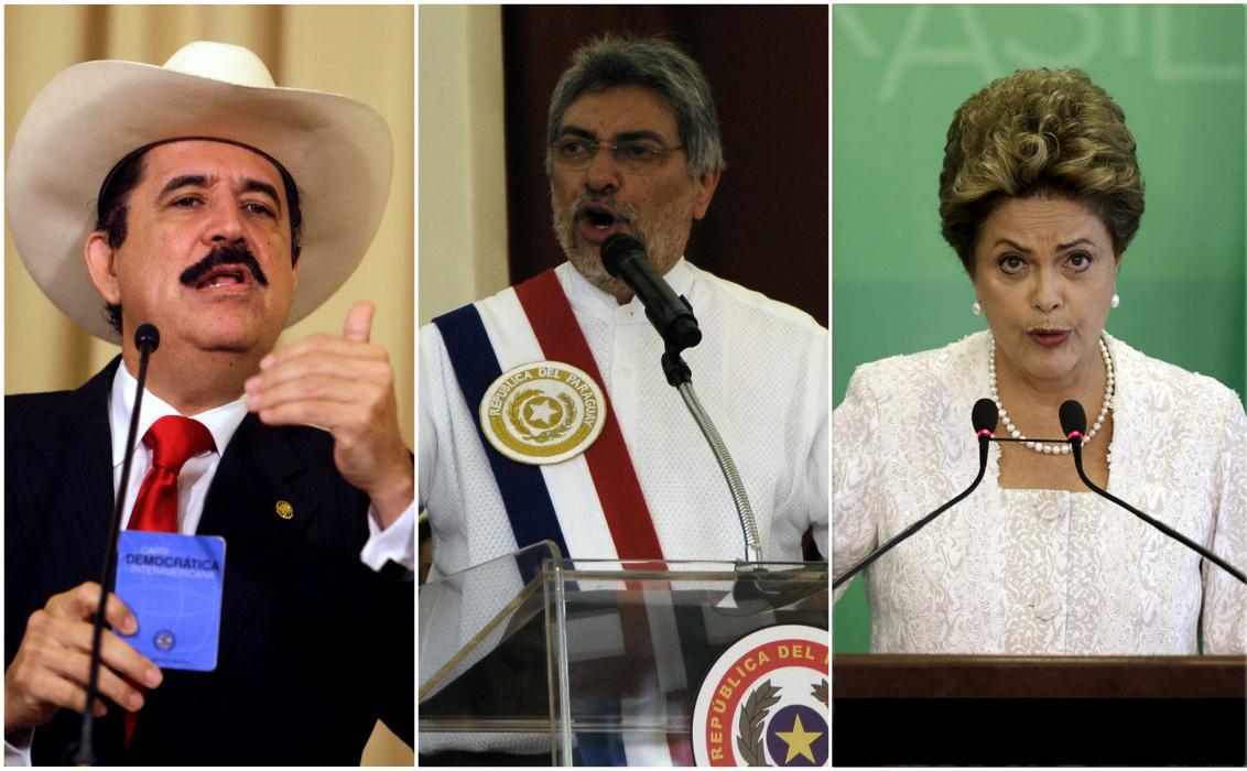 HONDURAS, PARAGUAI E BRASIL: UMA ANÁLISE COMPARATIVA DOS GOLPES INSTITUCIONAIS NO CONTINENTE.