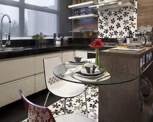 decoracao cozinha tradicional:Cozinha: Jeitos de decorar a parede