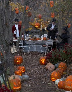 haunt the house for an old fashioned halloween party by better homes gardens - Old Fashion Halloween