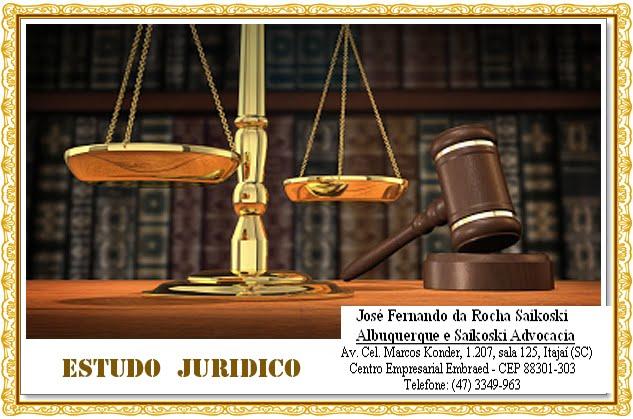 ESTUDIO JURIDICO - ESTUDO JURIDICO
