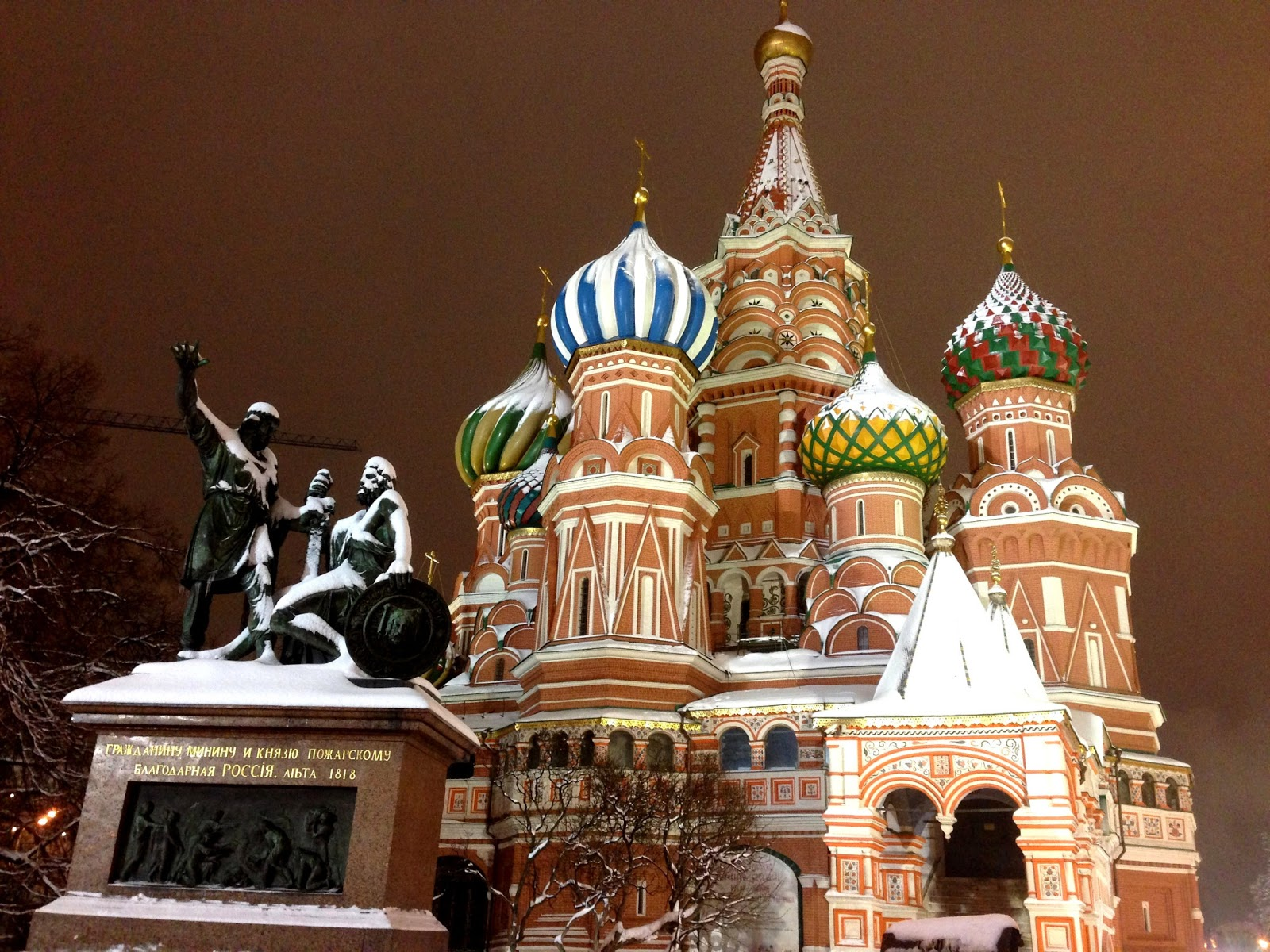 2014 Winter Olympics: Moscow \u2013 Red Square, St. Basil Cathedral ...