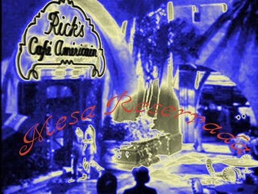 Mesa Reservada Do Rick's Café