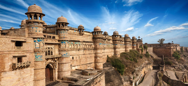 Gwalior Fort In Madhya Pradesh India