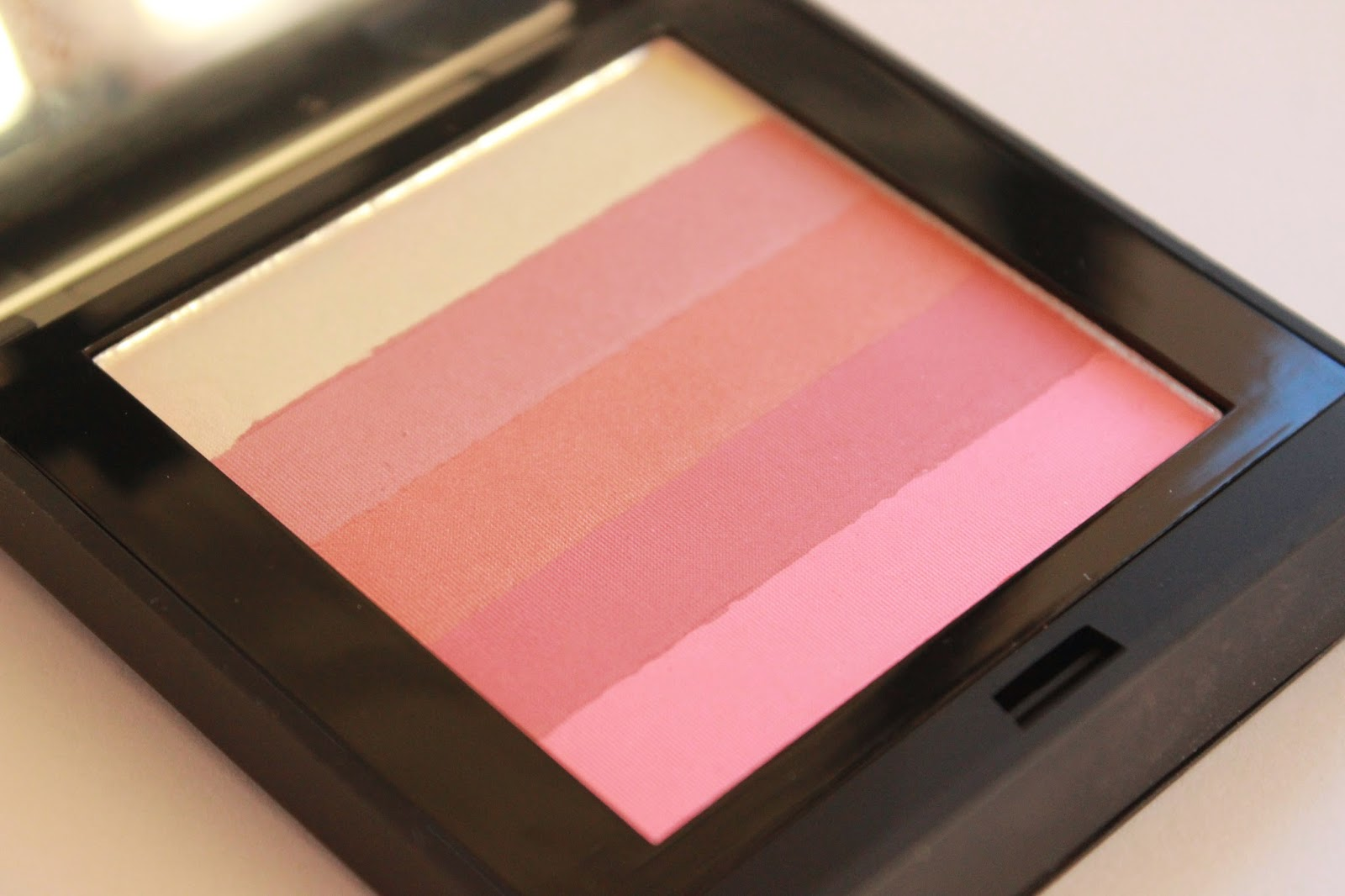 review mememe shimmer stack pink