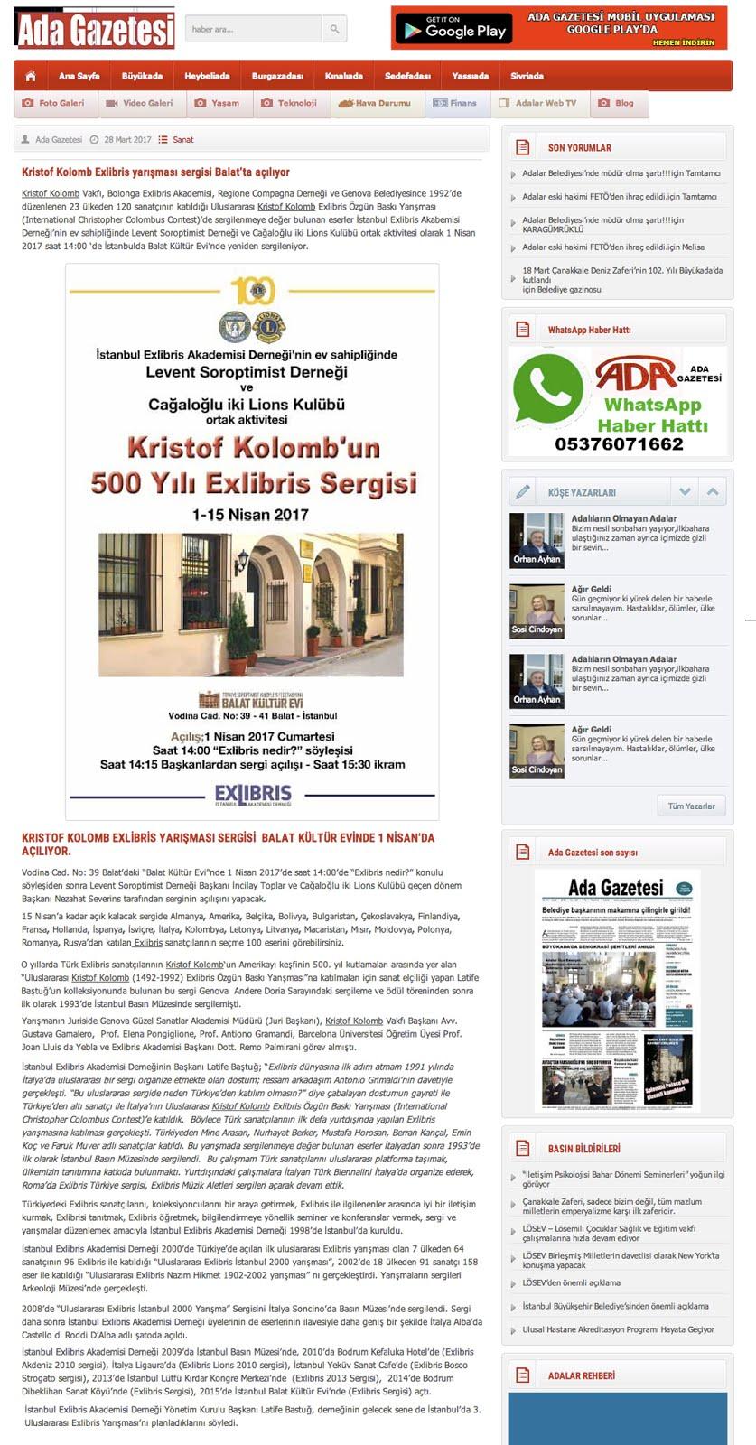 1 Ada Gazetesi