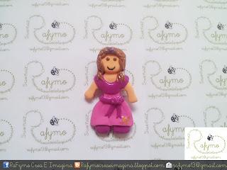 Princesa hecha con Fimo