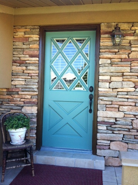 French Country Doors : Cottage charm creations french country entry door