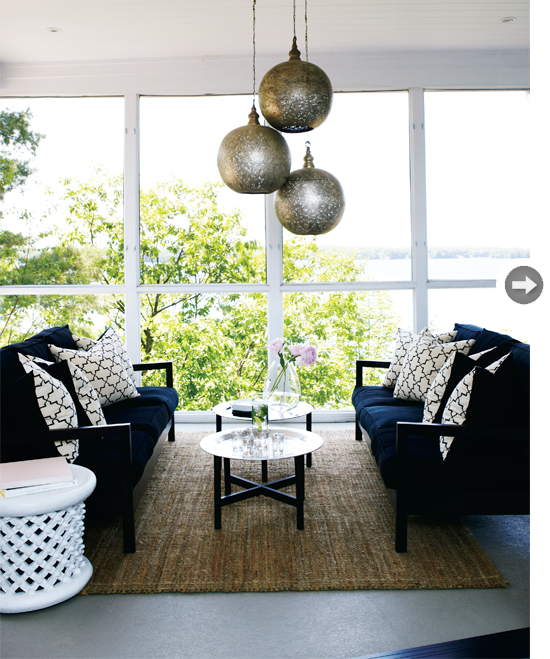 Design in the woods lakehouse love - Casa tres chic blog ...