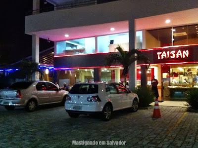 Restaurante Taisan: Fachada