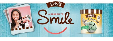Edy's a reason to smile