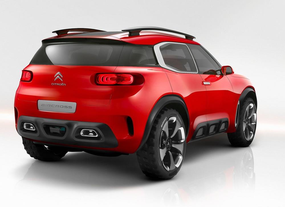 シトロエン「Aircross Concept」のリア画像