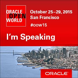I'm Presenting at OOW15