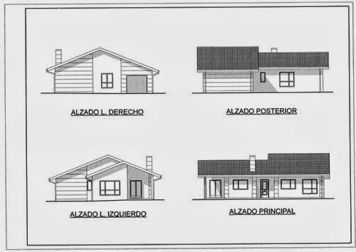 Arquitectura planta alzado y secci n - Alzado arquitectura ...
