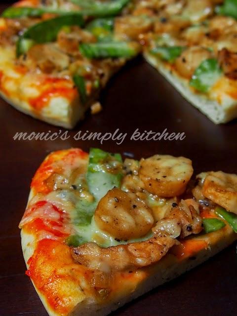 pizza lada hitam