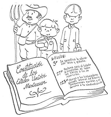 TE CUENTO UN CUENTO: Dibujos para colorear de la Constitución