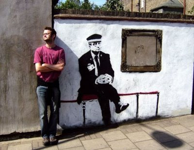 Banksy Graffiti Art Galleries Waiting