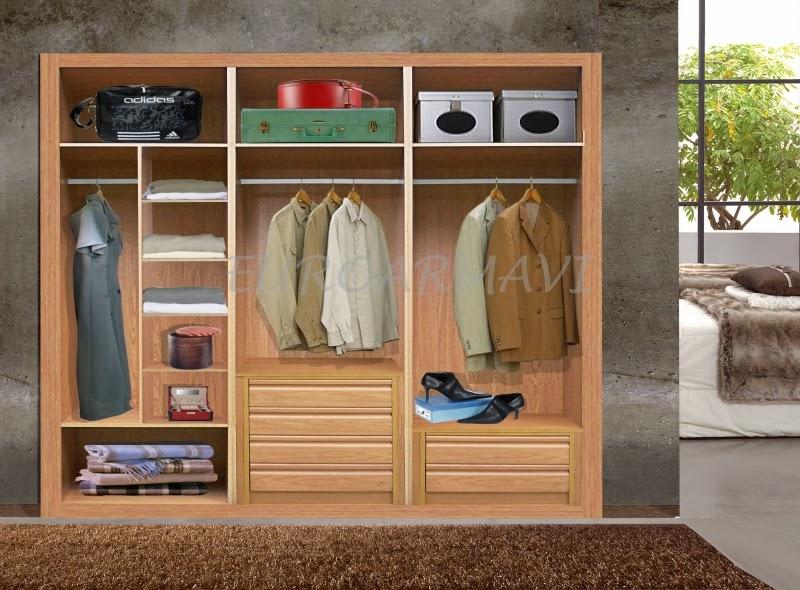 Bricolaje en guadalajara orden en los armarios for Interiores de armarios
