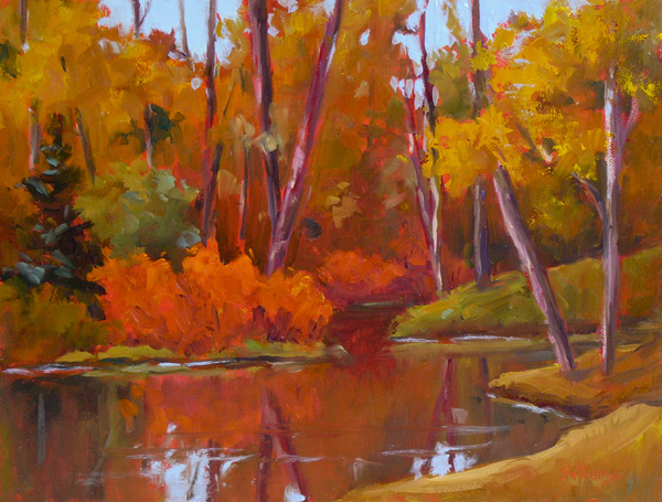 Sharon lynn williams 39 art blog the riot of fall oil for Sharon williams paint
