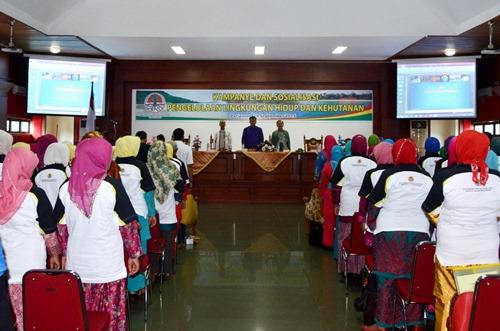 Pariaman Ditunjuk Sebagai Kota Pelaksana Kampanye dan Pelatihan Pengelolaan Lingkungan Hidup di Sumatera
