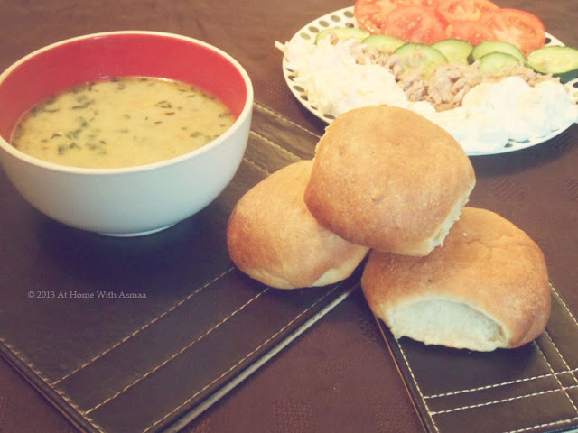 lemon and thyme bread rolls recipe | Halal Home Cooking