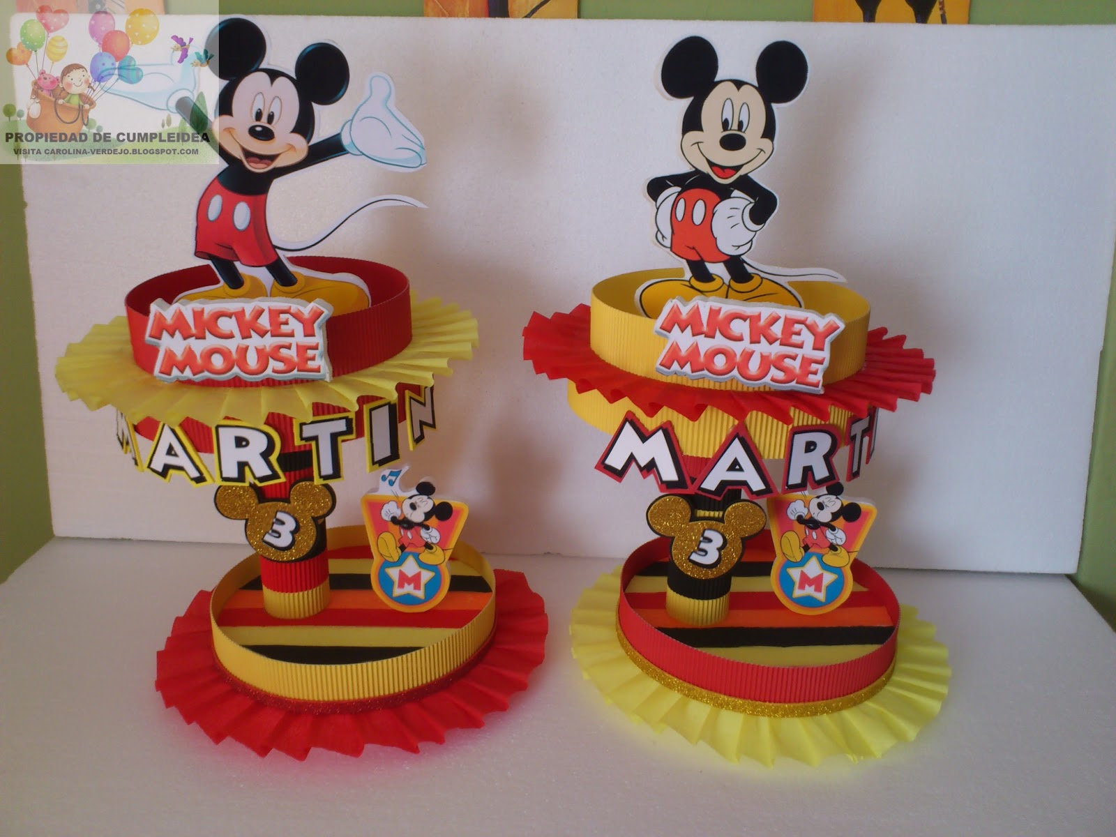 MICKEY MOUSE DULCERAS