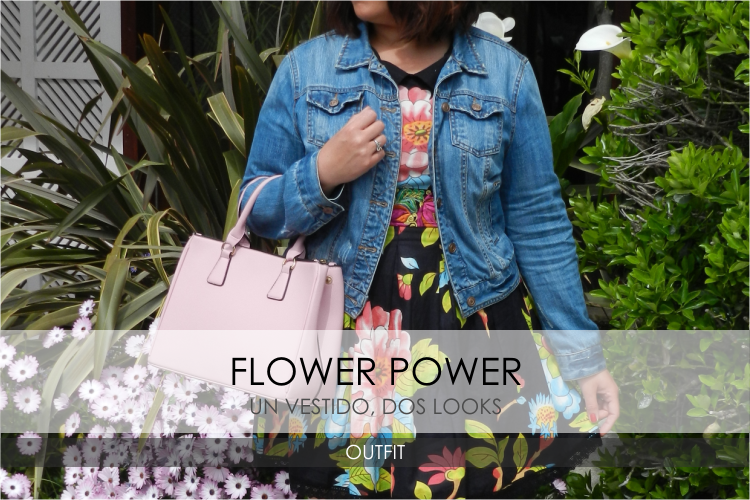 Flower Power · 1 Vestido 2 Looks