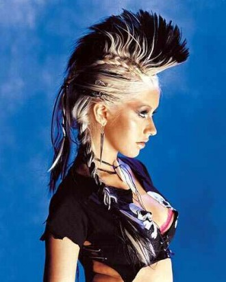 rocker girl hairstyles : Punk Hairstyles,Punk Hair styles: Punk Hairstyle Pictures