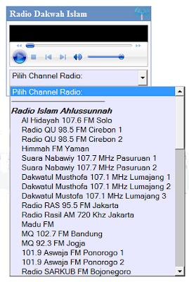 widget radio ahlussnnah wal jama'ah
